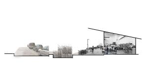 Original Streetscape Concept Sketch